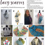 10 Free Crochet Patterns for Lacy Scarves