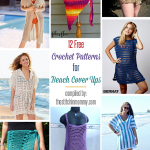 12 Free Crochet Patterns for Beach Cover Ups