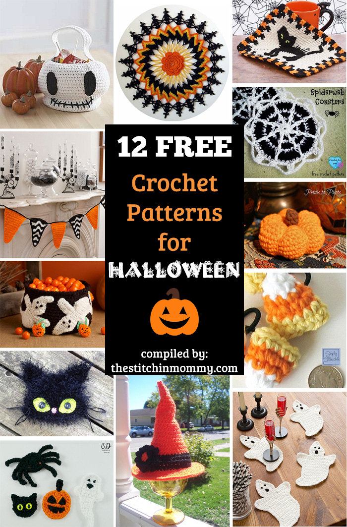 12 Free Halloween-Themed Crochet Patterns - The Stitchin Mommy