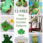 15 Free Frog-Inspired Crochet Patterns