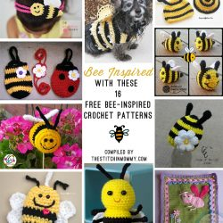 16 Free Bee-Inspired Crochet Patterns