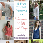 18 Free Crochet Patterns for Summer Vests and Tops