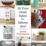 Free Crochet Patterns Kitchen Decor : 14 Free Summer Decor Crochet Patterns - The Stitchin Mommy