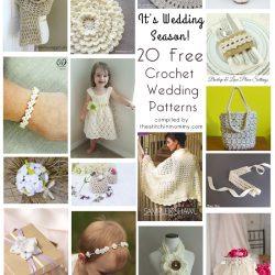 It's Wedding Season! 20 Free Crochet Wedding Patterns