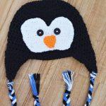 Crochet Penguin Hat Pattern – Newborn Size