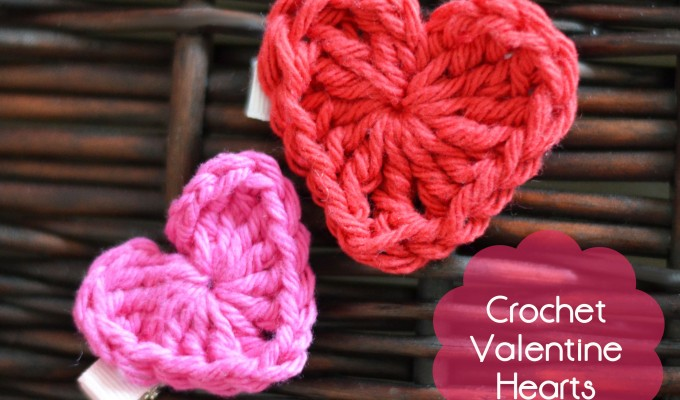 Valentine's Day Crochet Heart