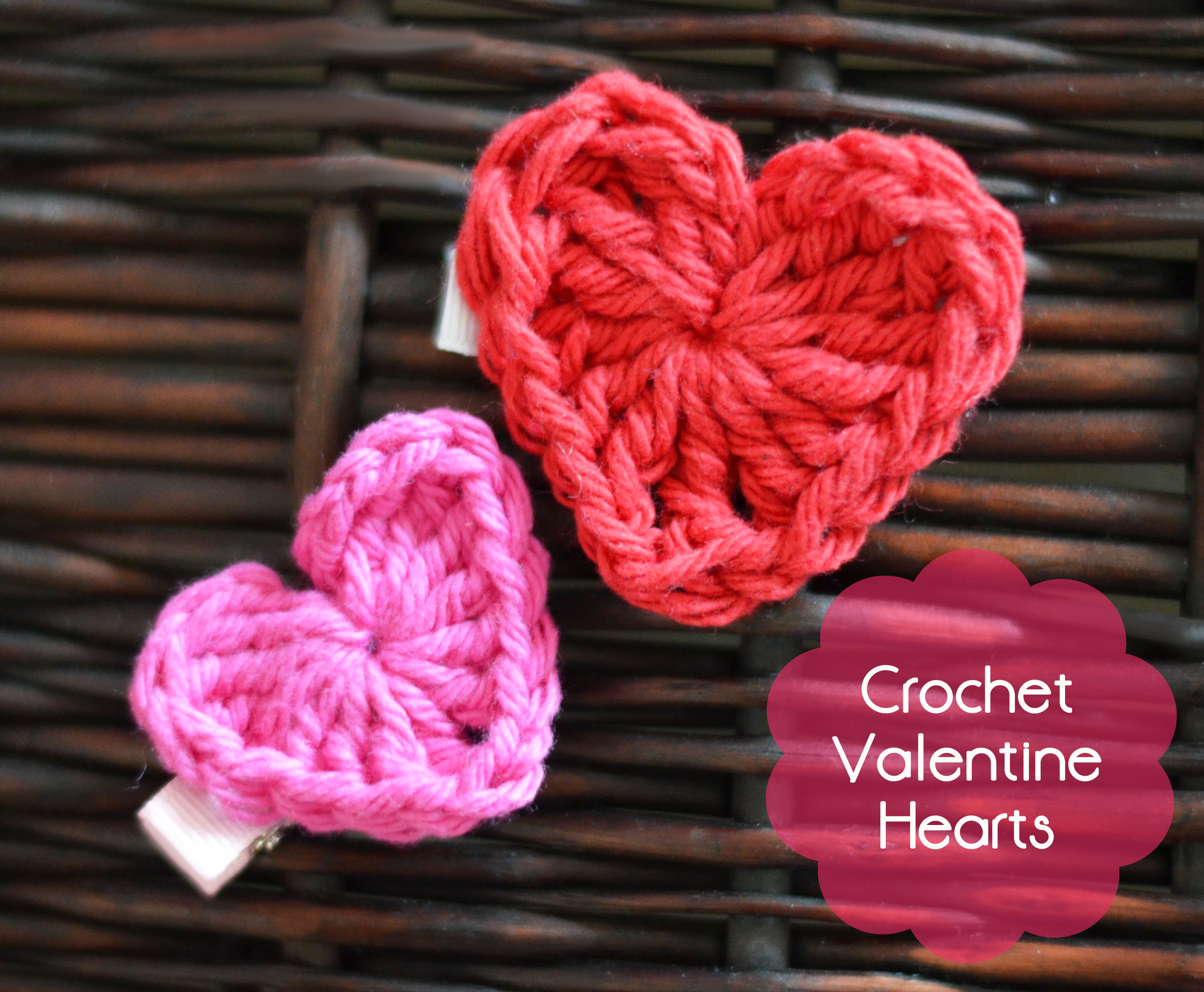 Valentine S Day Crochet Heart The Stitchin Mommy