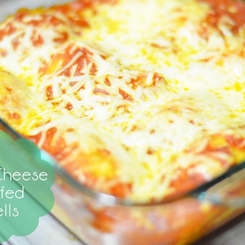 Three Cheese Stuffed Shells – New Year, New Recipe