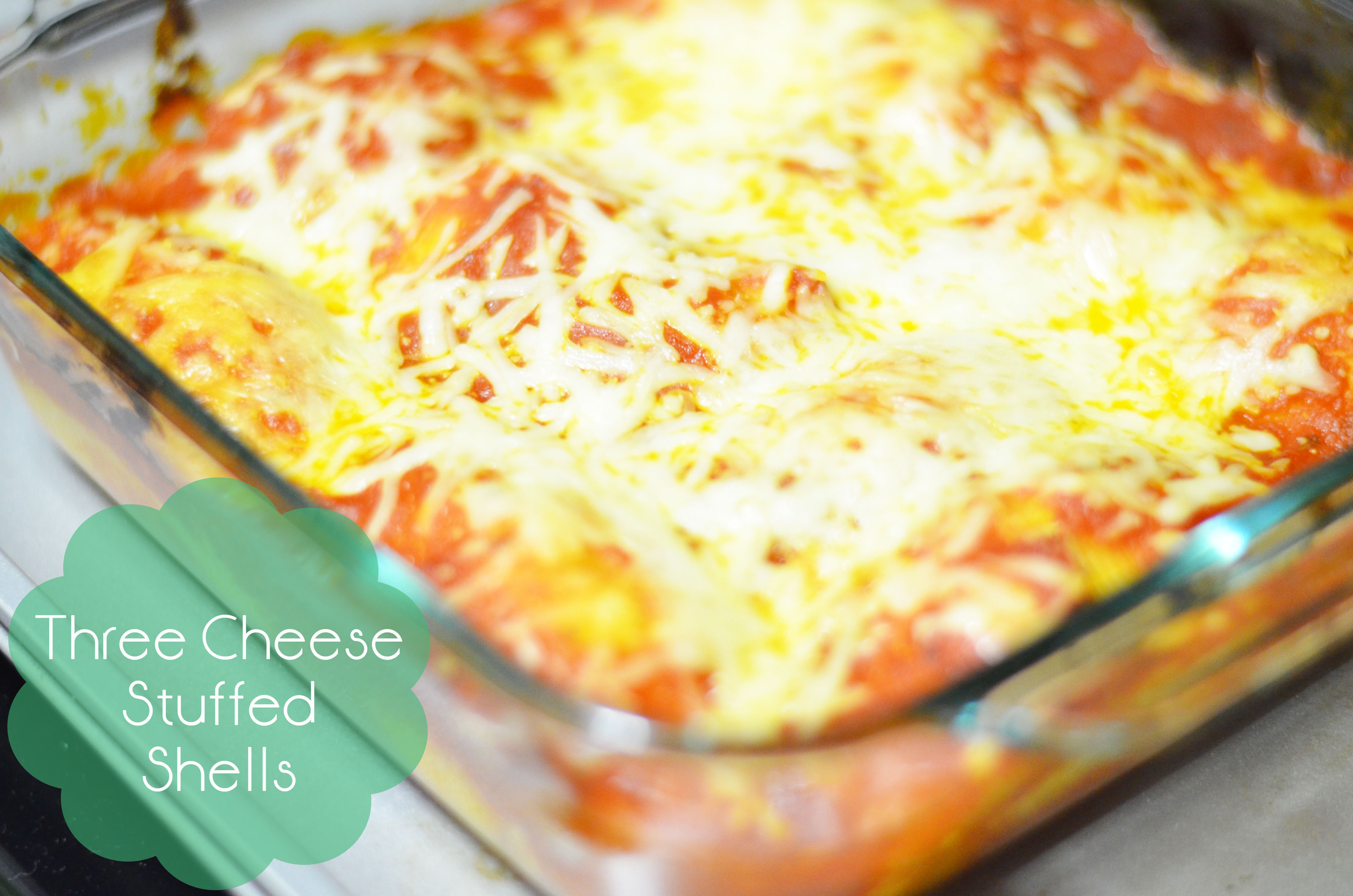 Three Cheese Stuffed Shells – New Year, New Recipe