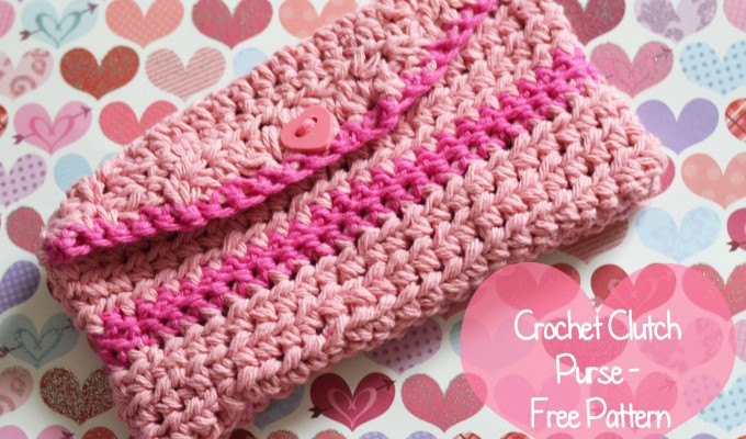 Crochet Clutch Purse – Free Pattern