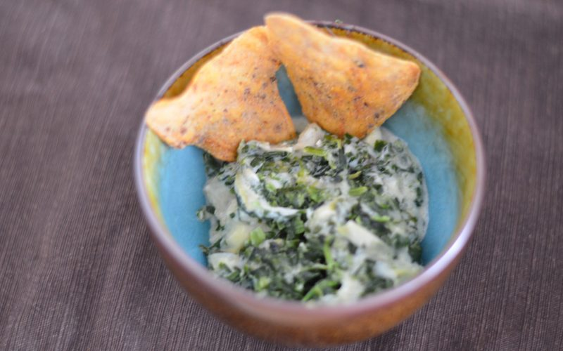 A Small Snack with #GiantFlavor and Spinach Artichoke Dip Recipe