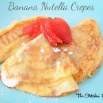 Banana Nutella Crepes
