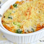 Chicken and Broccoli Pasta Casserole #QuickFixCasseroles