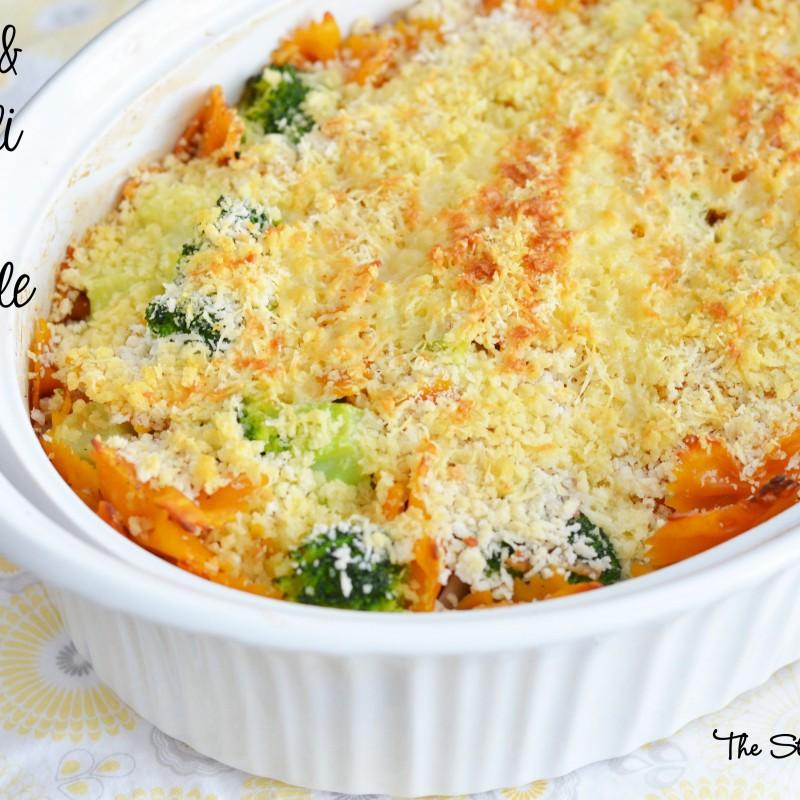 Chicken and Broccoli Pasta Casserole #QuickFixCasseroles