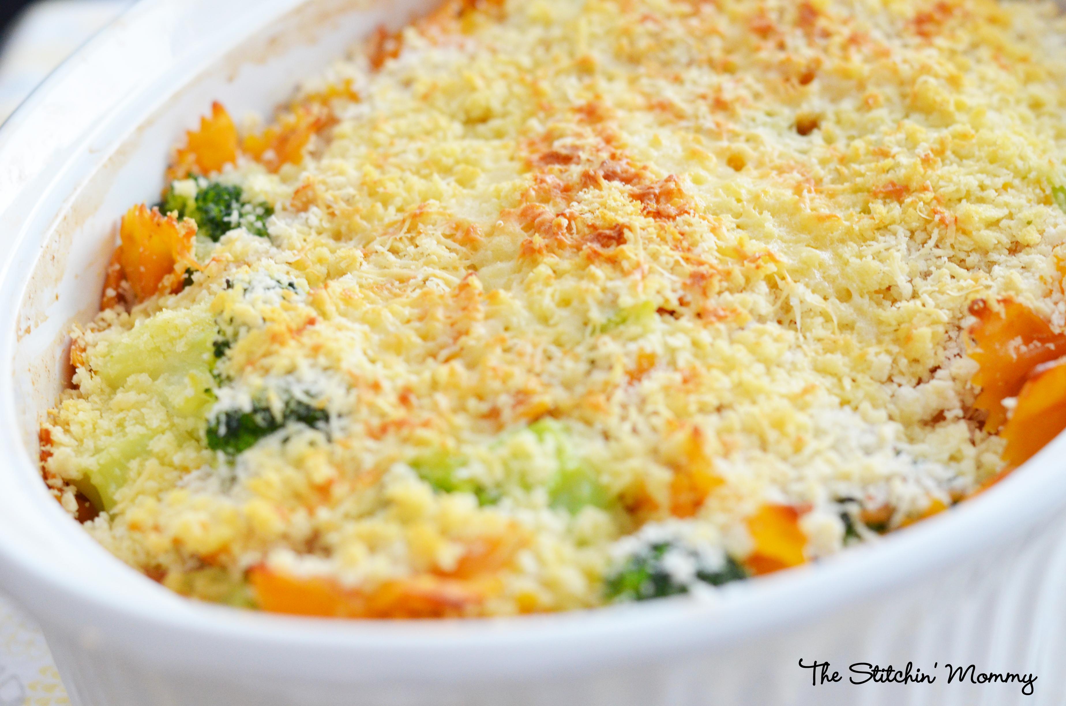 Chicken and Broccoli Pasta Casserole #QuickFixCasseroles - The ...