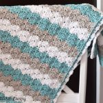 Shell Stitch Baby Blanket – Free Pattern