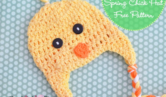 Spring Chick Hat – Free Crochet Pattern