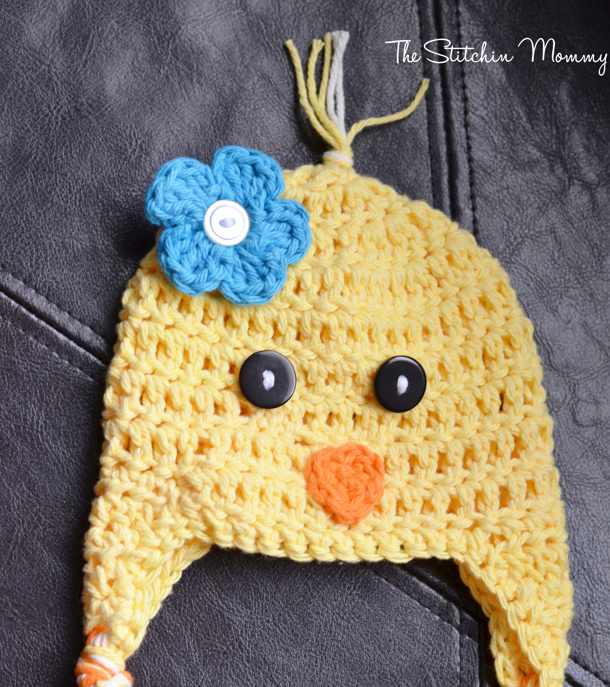 Free Crochet Pattern Easter Hat : Spring Chick Hat - Free Crochet Pattern - The Stitchin Mommy