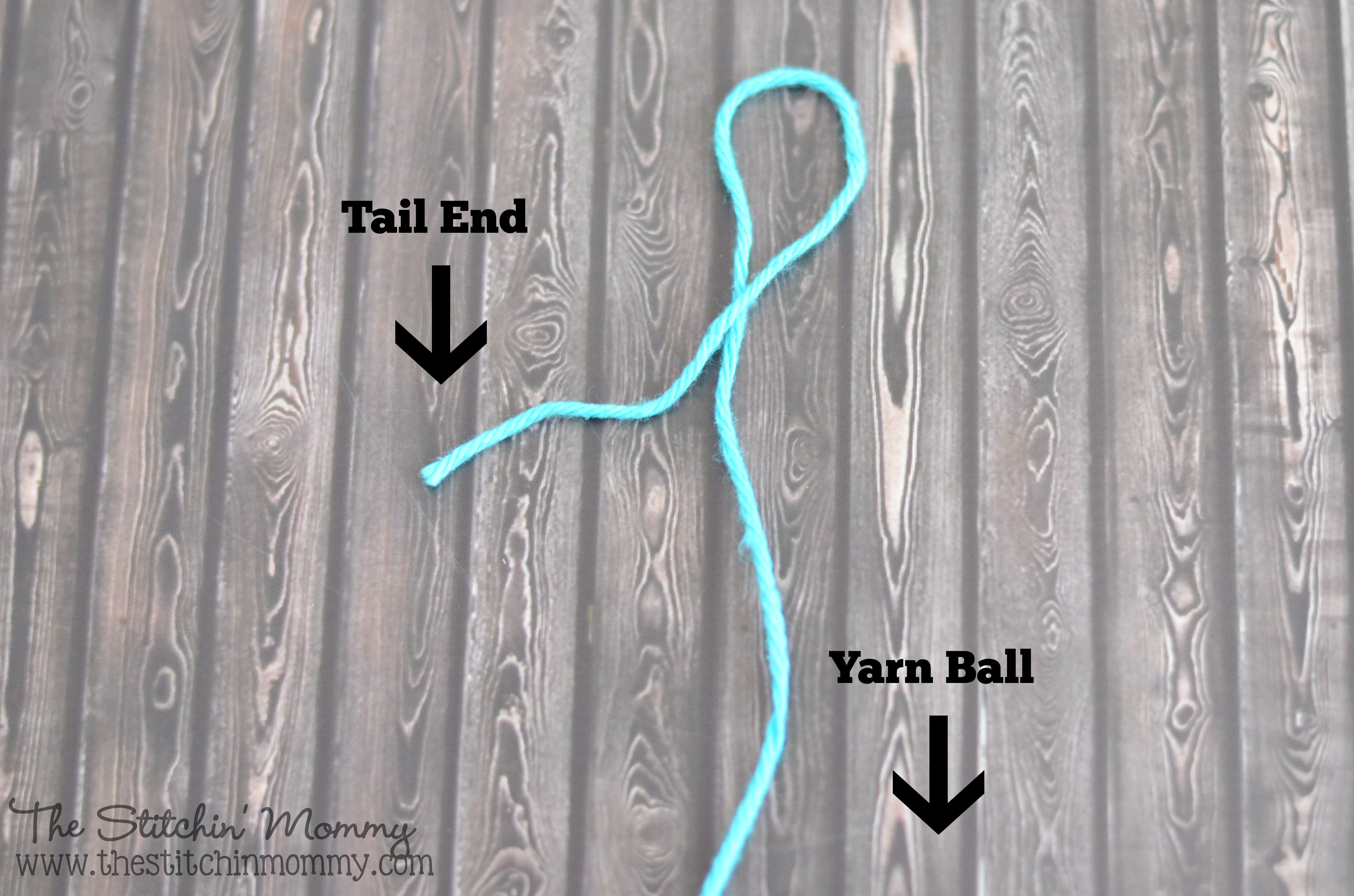 Crochet 101 - Slip Knot and Chain Stitch - The Stitchin Mommy