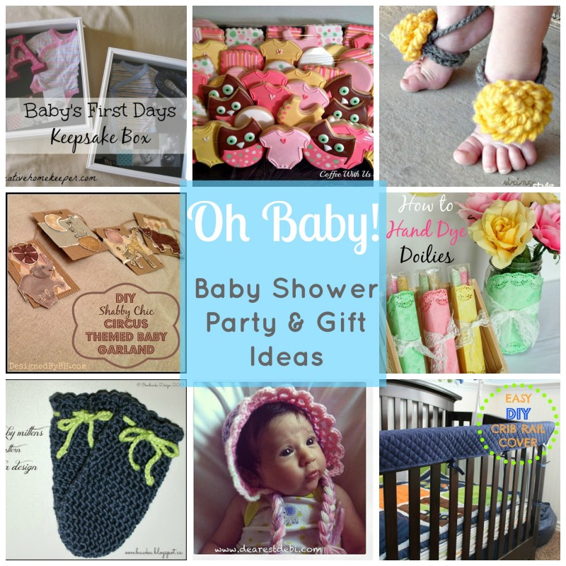 Oh Baby! – Baby Shower Party and Gift Ideas
