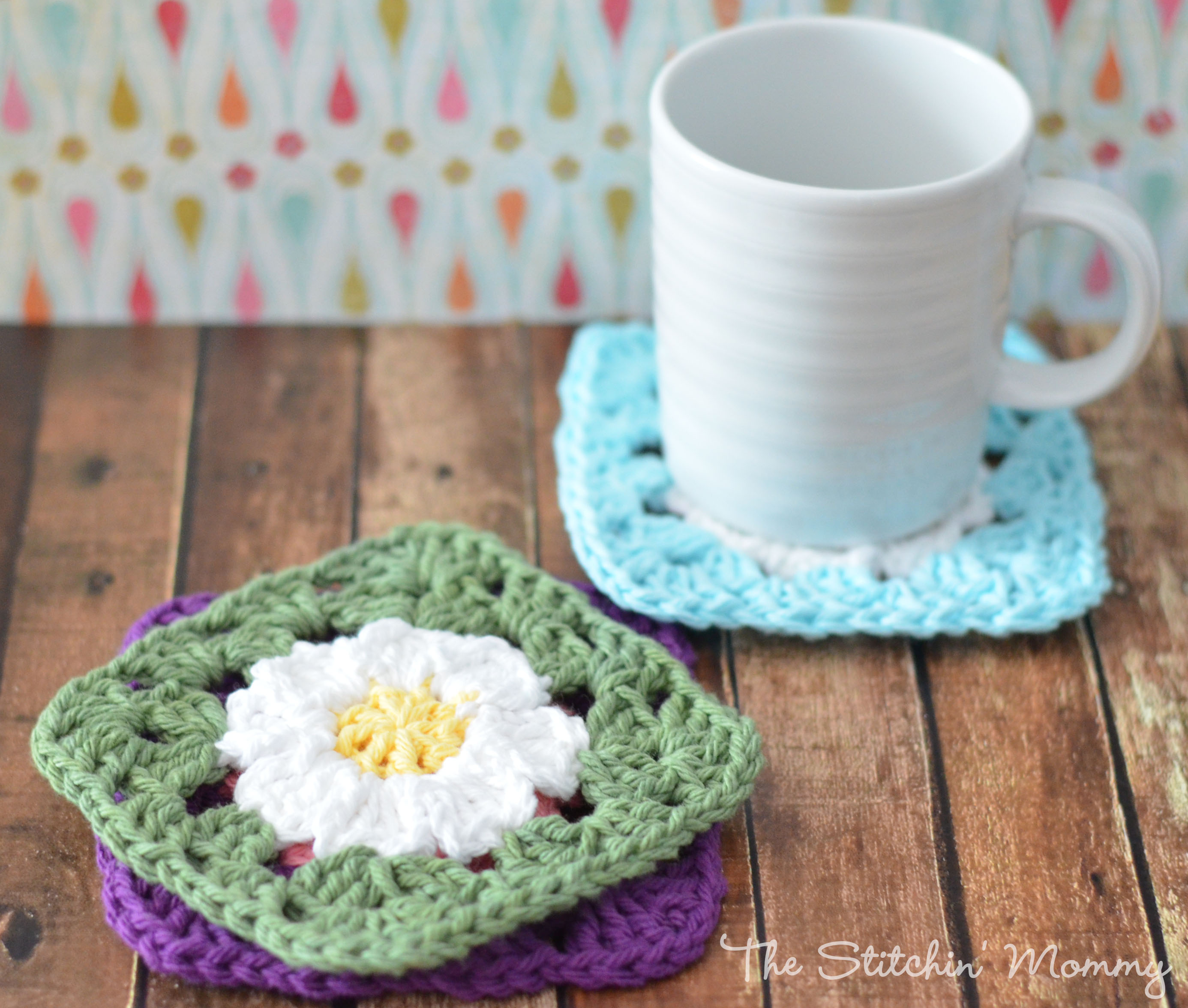 Daisy Granny Square Blanket Pattern Crochet Daisy Granny Squares