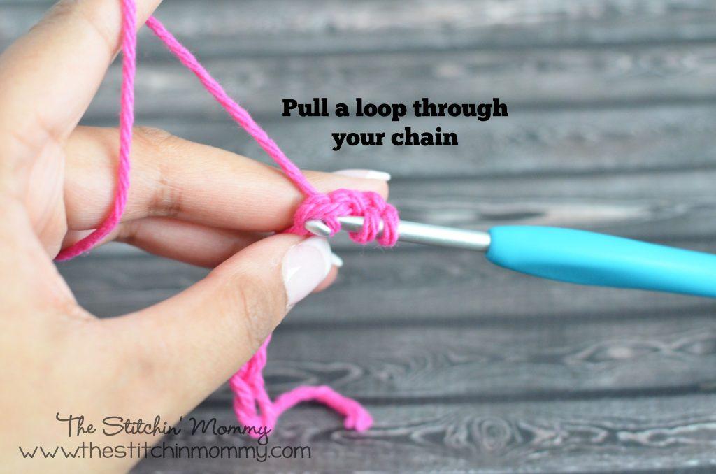 Crochet 101 - Double Crochet Stitch www.thestitchinmommy.com