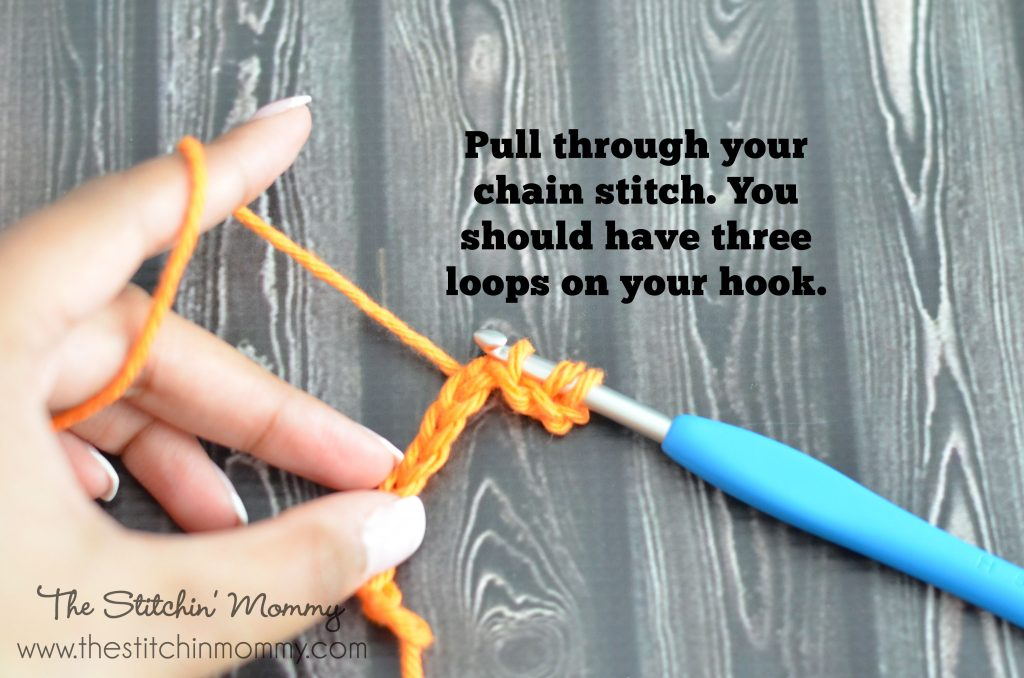 Crochet 101 - Half Double Crochet Stitch www.thestitchinmommy.com
