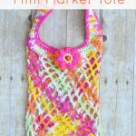 Berries and Sunshine Mini Market Tote