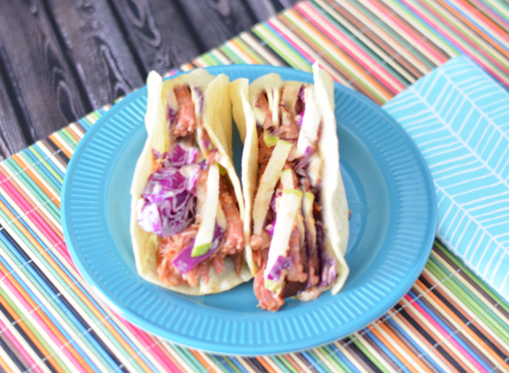 Pulled Pork Tacos with Apple Slaw #EasyPrepMeals #CollectiveBias