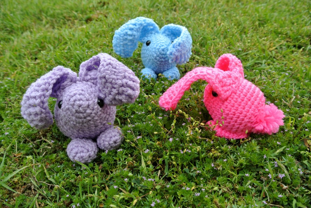 Baby Bunny Amigurumi Pattern : Eleven Free Crochet Toy and Lovey Patterns