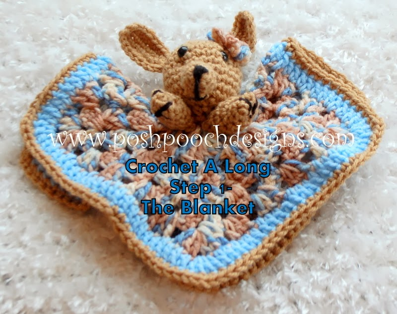 Free Crochet Pattern Pet Blanket : Eleven Free Crochet Toy and Lovey Patterns