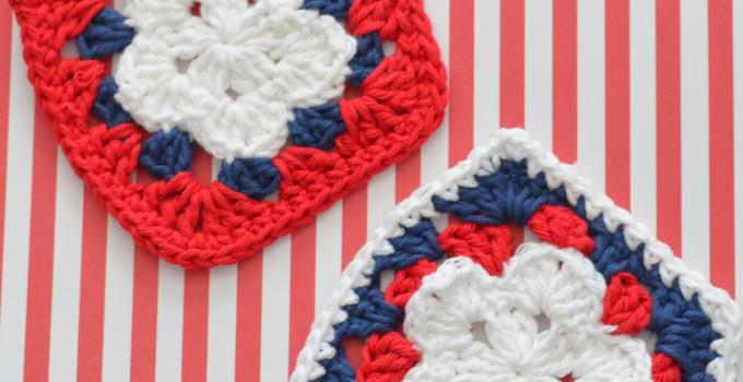 Crochet Star Granny Square
