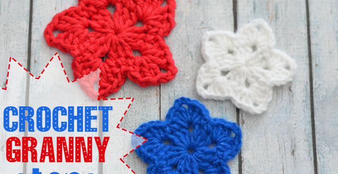 Crochet Granny Star
