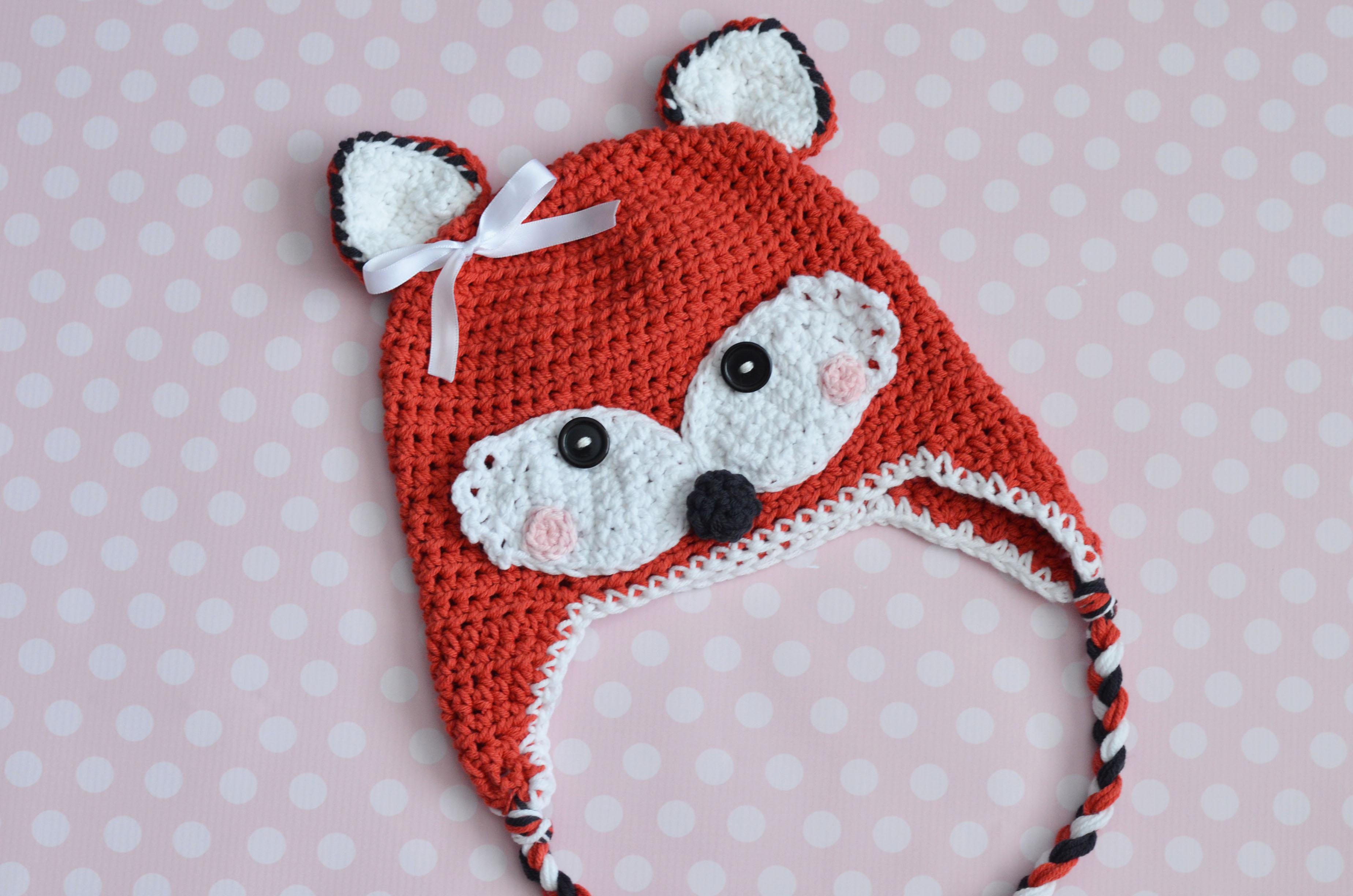 Free Pattern Crochet Fox : Gallery For > Crochet Fox Hat