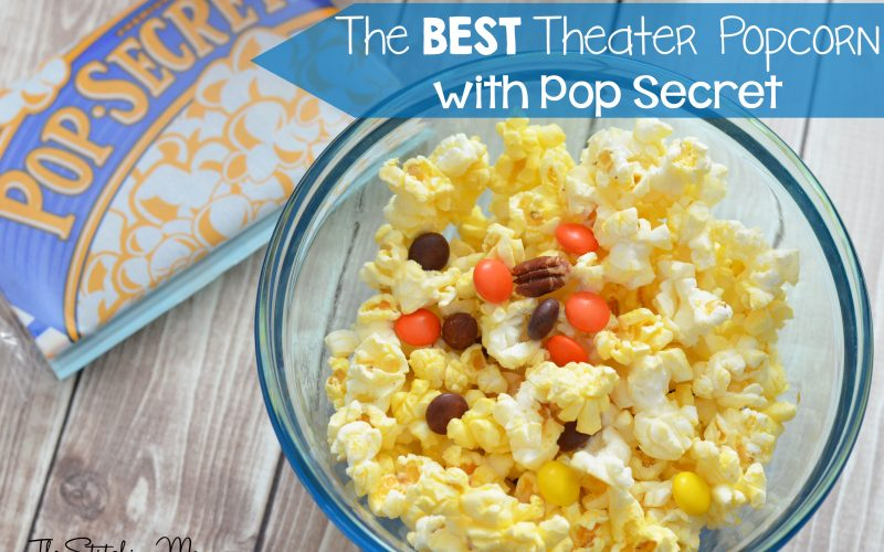 The Best Theater Popcorn with Pop Secret #PerfectPop