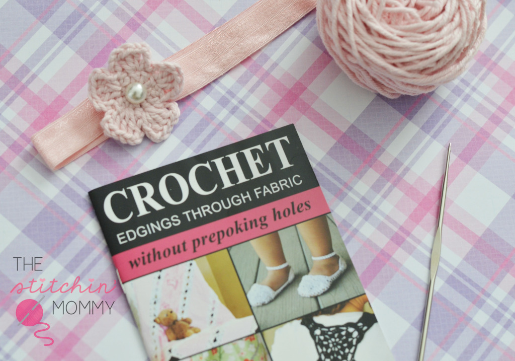 Crochet Flower Headband - Sharp Crochet Hook Review & Giveaway!