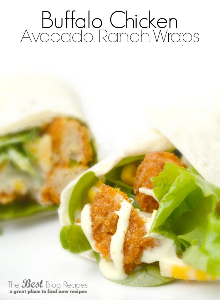 Buffalo-Chicken-Nuggets-Avocado-Ranch-Wraps-