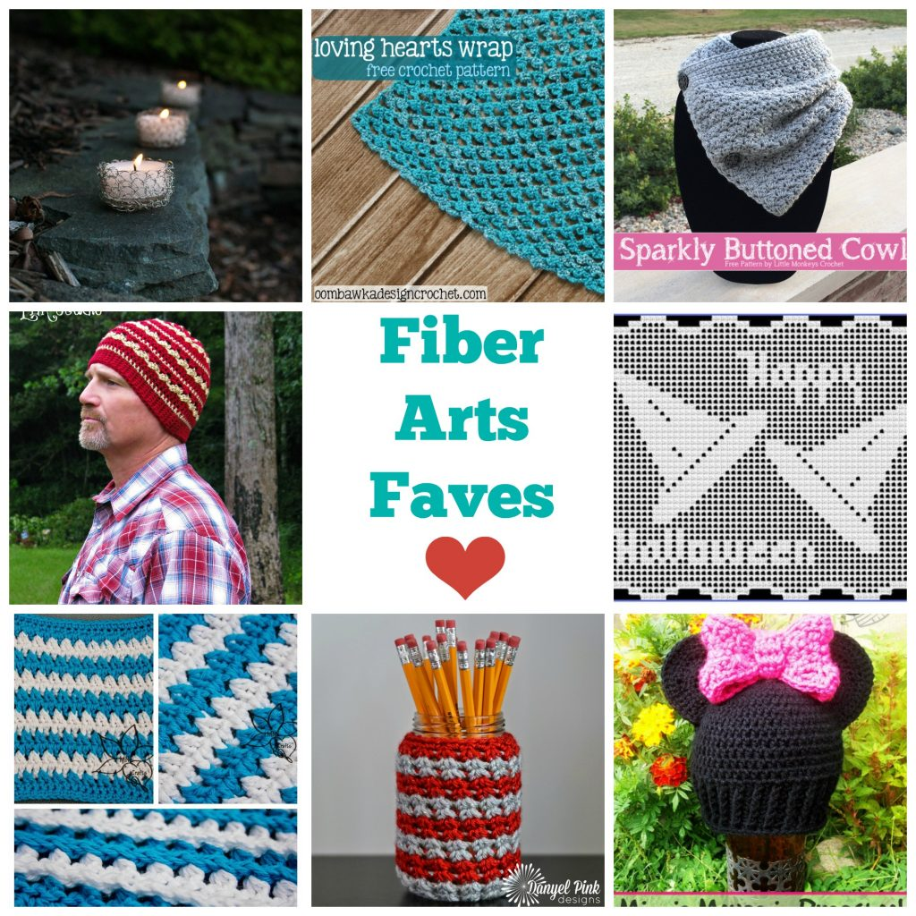 Friday Faves in Food and Fiber Arts Week 8 - Fiber Arts Faves www.thestitchinmommy.com