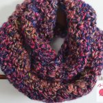 Neon Lights Infinity Scarf for Girls