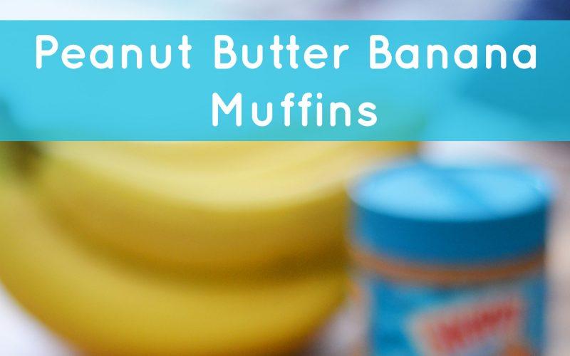 Peanut Butter Banana Muffins – Peanut Butter for Breakfast