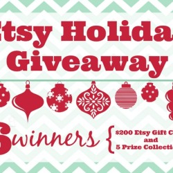 Etsy Holiday Giveaway Feature Title