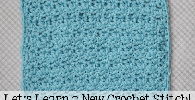 Half Double V Stitch Tutorial and Afghan Square
