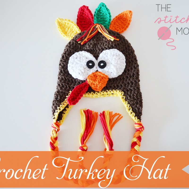 Crochet Turkey Hat – Free Pattern
