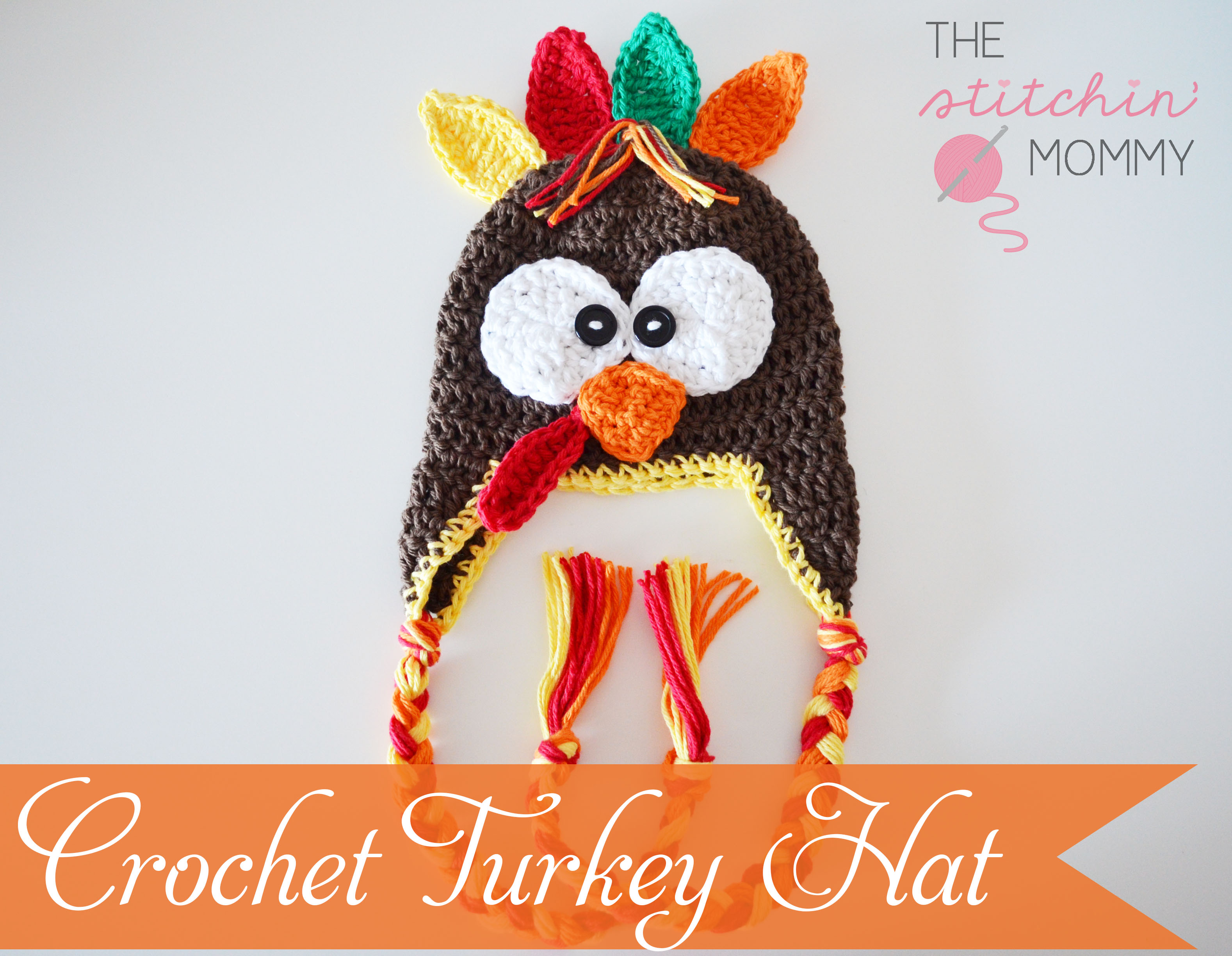 Crochet Turkey Hat - Free Pattern - The Stitchin Mommy 956564b6dd7