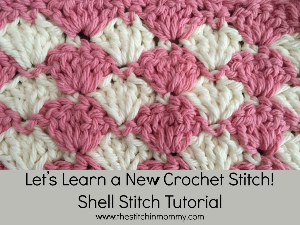 Crocheting The Shell Stitch : let s learn a new stitch this week this stitch is the shell stitch it ...