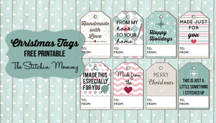 Christmas Gift Tags – Free Printable