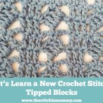 Tipped Blocks Stitch Tutorial
