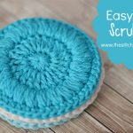 Easy Face Scrubbies – Free Pattern