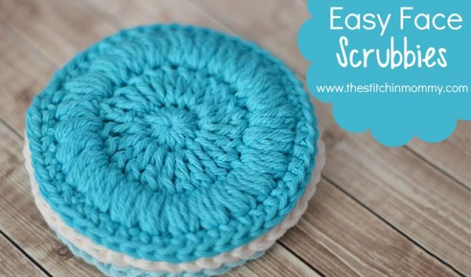 Easy Face Scrubbies – Free Pattern