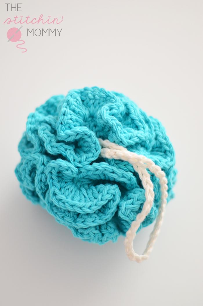 Free Crochet Pattern Bath Pouf : Puffy Bath Pouf - Free Pattern - The Stitchin Mommy